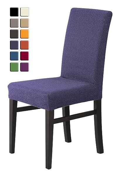 SCHEFFLER-HOME Zara Fundas de sillas 2 piezas, estirable Cubiertas de la sillas,