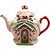 Amazon Com Spode Christmas Tree Candy Cane Teapot