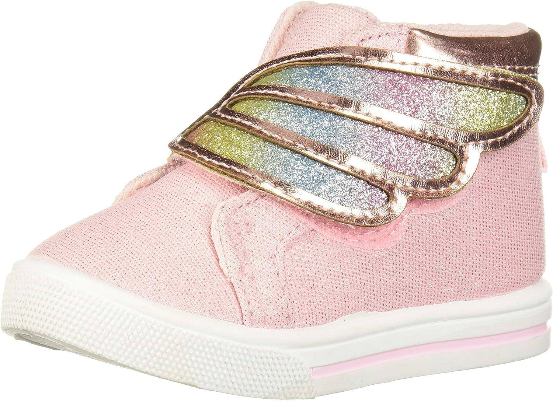 OshKosh B'Gosh Toddler and Little Girls Peggi High Top Sneaker