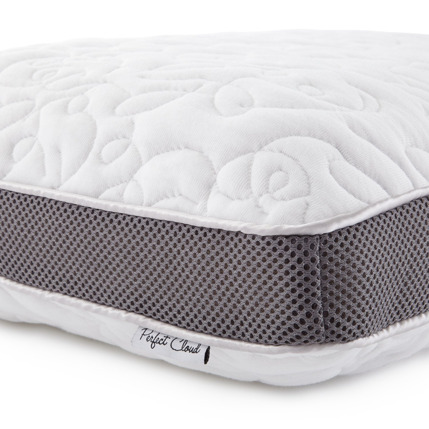 amazon com perfect cloud double airflow memory foam pillow by