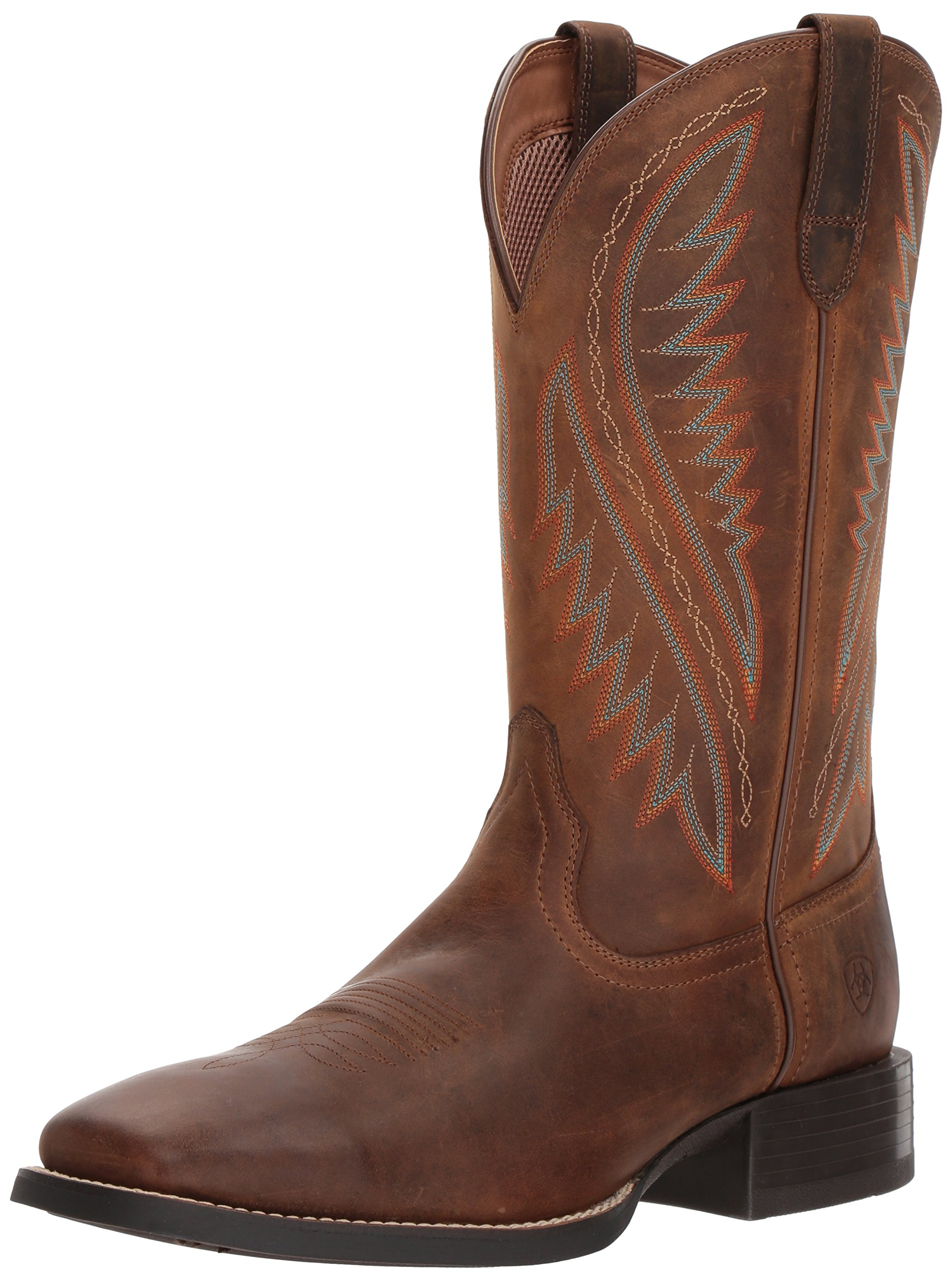 ARIAT Men's Sport Stonewall Western Boot, Distressed Brown, 10 E US by ARIAT