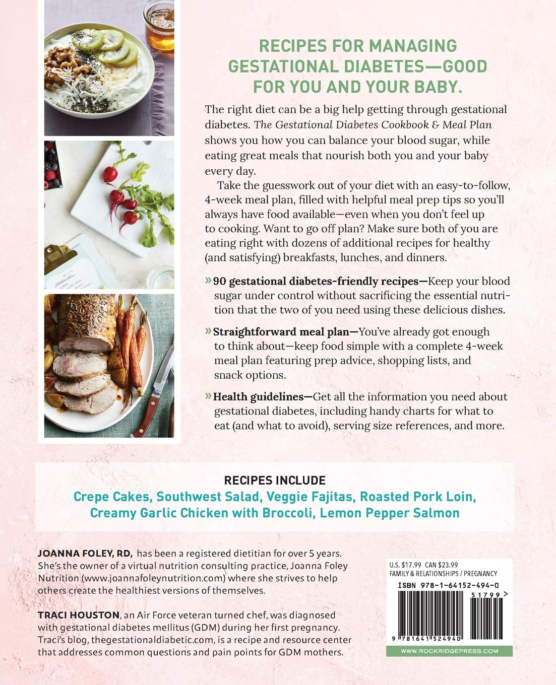 The Gestational Diabetes Cookbook Meal Plan A Balanced Eating