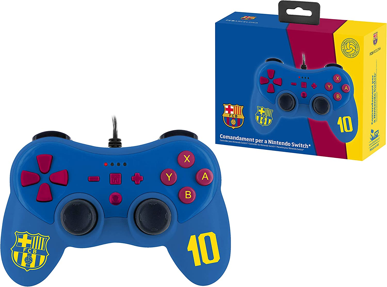 Mando controller para Nintendo Switch, con cable, EC Barcelona: Amazon.es: Videojuegos