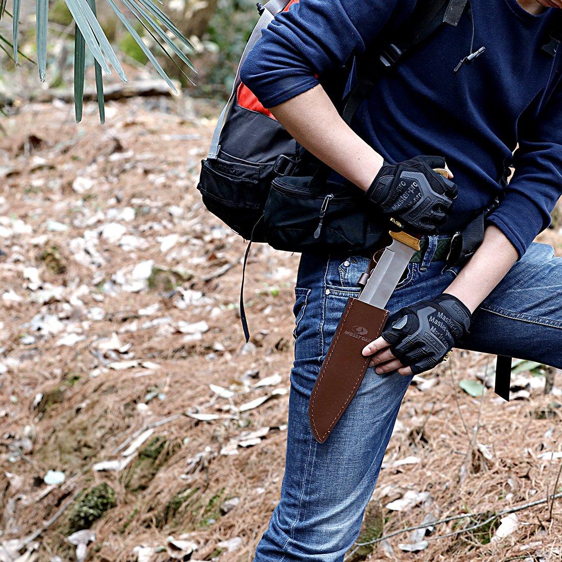 MOSSY OAK 14 inch Bowie Knife