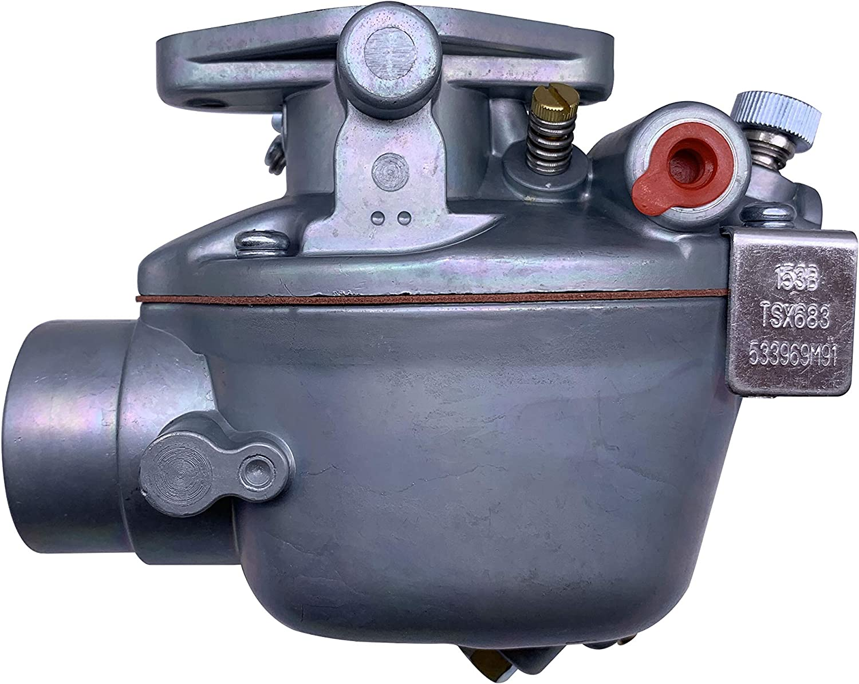 533969M91 New Carburetor for Massey Ferguson TO35 35 40 50 F40 135 150 202 204 Marvel TSX605 TSX882 TSX683