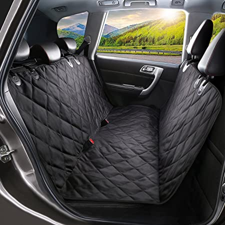 Black Water Resistant Rear Car Seat Dog Pet Cover Mercedes-Benz E-Class