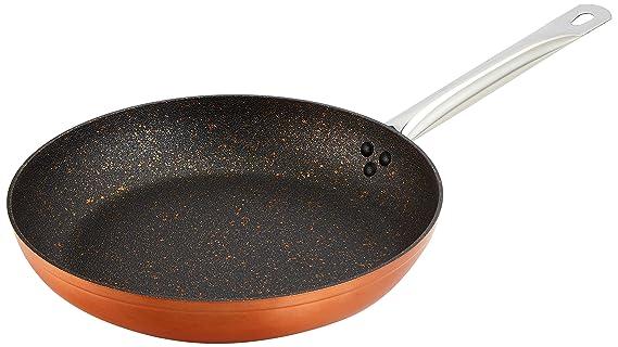 Quttin Sartén, Aluminio, Cobre, 26 cm: Amazon.es: Hogar