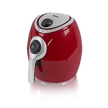 Freidora Swan saludable, bajo contenido en grasa, rápida circulación del aire Manual rosso: Amazon.es: Hogar