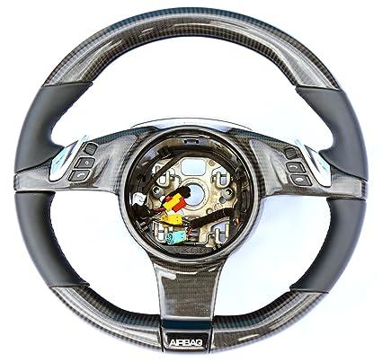 Carbon Fiber steering wheel Porsche Cayenne - Cayenne Turbo - Turbo S GTS 2011-2014