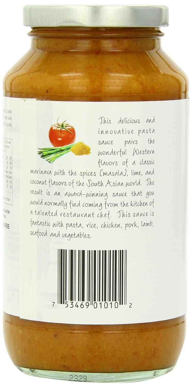 Amazon.com : Dave\'s Gourmet Pasta Sauce, Masala Marinara, 25.5 Ounce ...