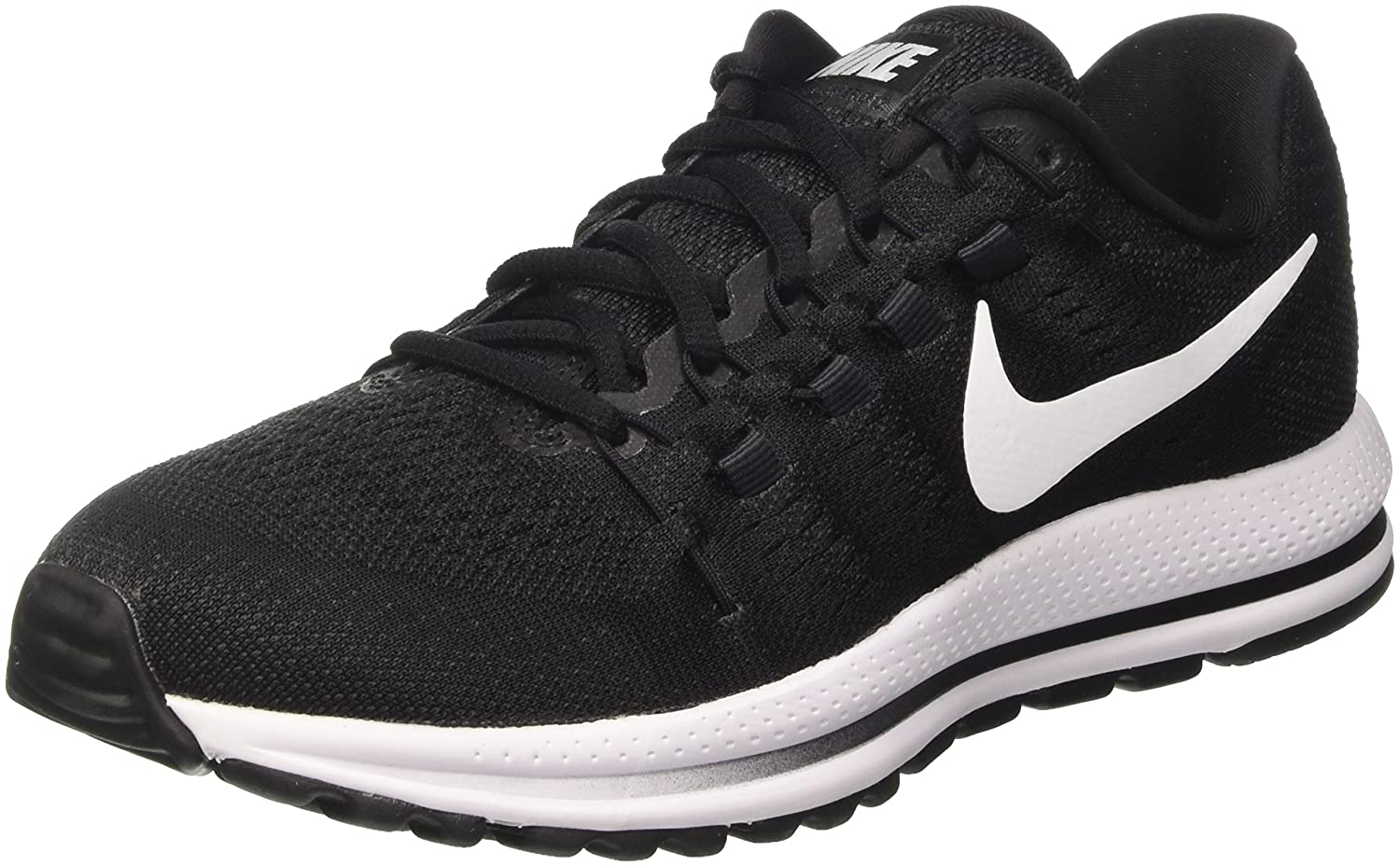 NIKE Men's Air Zoom Vomero 12 Running Shoe B000TSRLKU 7.5 D(M) US|Black/White/Anthracite