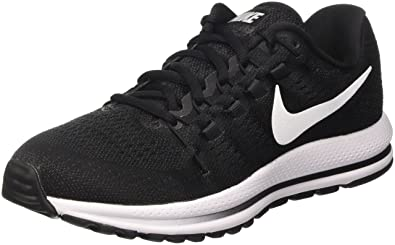 91cae64be9cb Nike Men s Air Zoom Vomero 12 Running Shoes Black Anthracite White