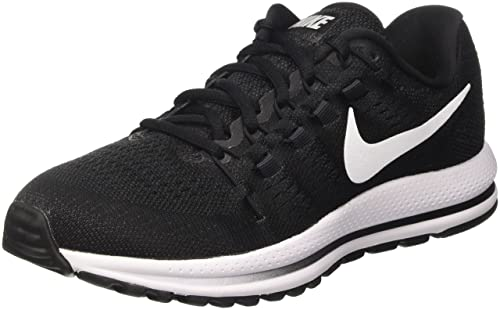 a98d1a9afb4c8 Nike Men s AIR Zoom Vomero 12 Black White-Anthracite Running Shoes-12 UK