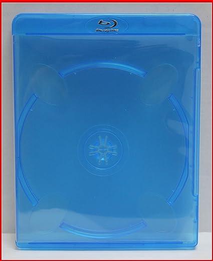 NEW Holds 2 Discs 5 Premium VIVA ELITE Double Disc Blu-ray Cases