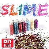 Slime Supplies Kit, 55 Pack Slime Beads