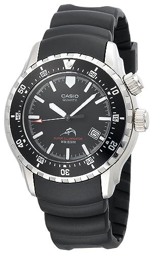 Casio Hombre mdv102 - 1 AV mar iluminador analógico Dual LED Buceo reloj: Casio: Amazon.es: Relojes