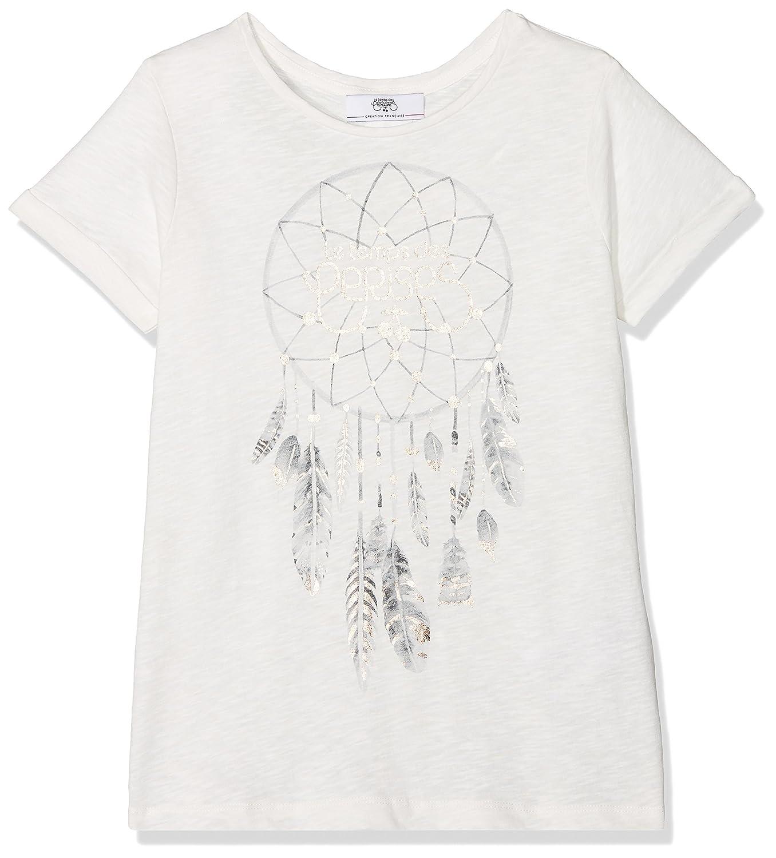 Le Temps des Cerises Gnightcatchgimc, T-Shirt Fille Beige (Ice Cream 1132) 16 Ans (Taille Fabricant: S) Le Temps des Cerises Junior