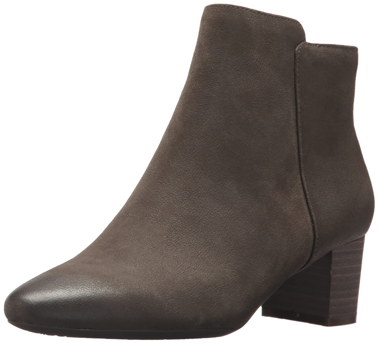 Rockport Women's Caden 2-Part Ankle Bootie B01MZHAUNH 9 B(M) US|Olive Grey Leather