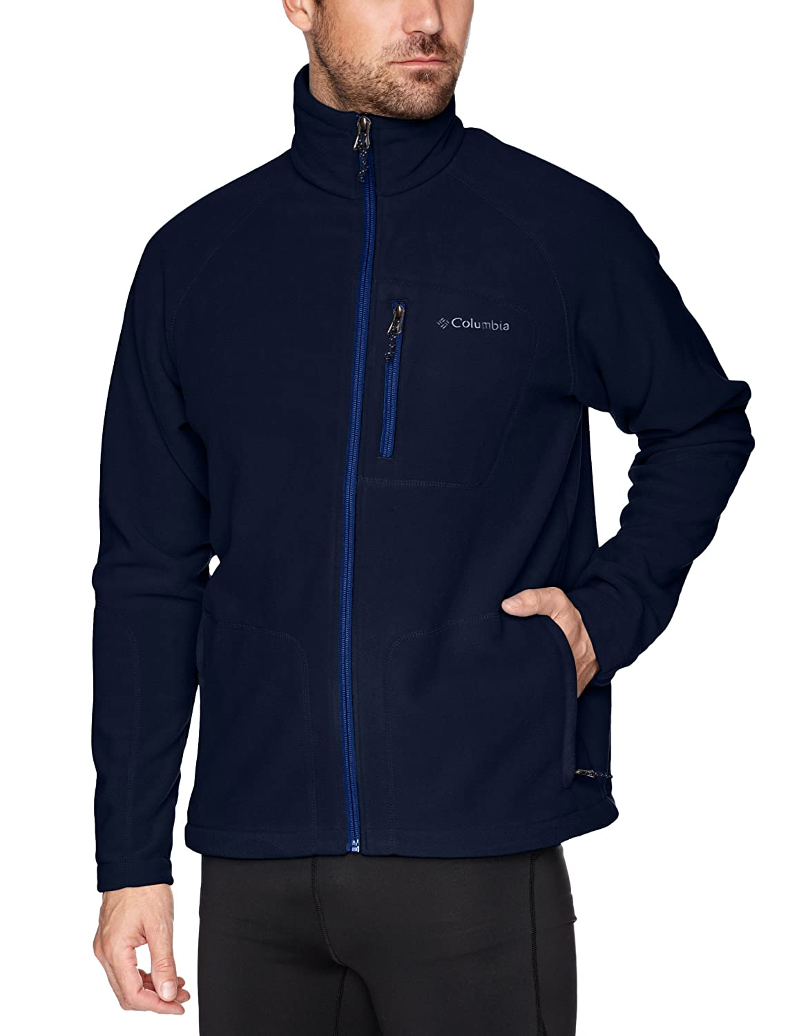 Columbia Men's Big & Tall Fast Trek II Full Zip Fleece Jacket Columbia Men's Outerwear 1420424