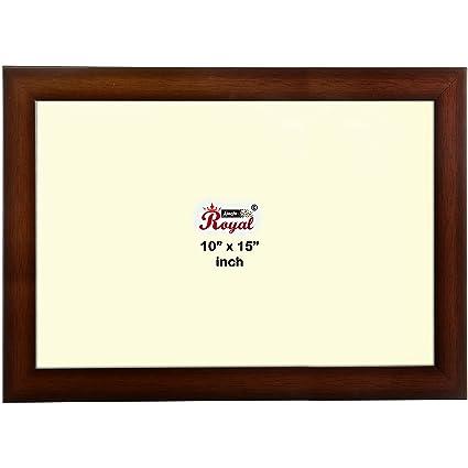 Buy Ajanta Royal Classic 10 X 15 Photo Frame Insert Brown A 48b