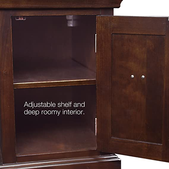 Amazon.com: Mesa auxiliar/soporte de impresora, Madera ...