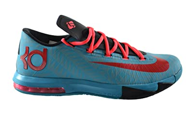 Nike KD VI N7 Men's Basketball Shoes Dark Turquoise/University  Red-Black-Atomic