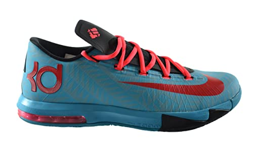 los angeles 6d6e1 3b95c Nike KD VI N7 Men s Basketball Shoes Dark Turquoise University  Red-Black-Atomic