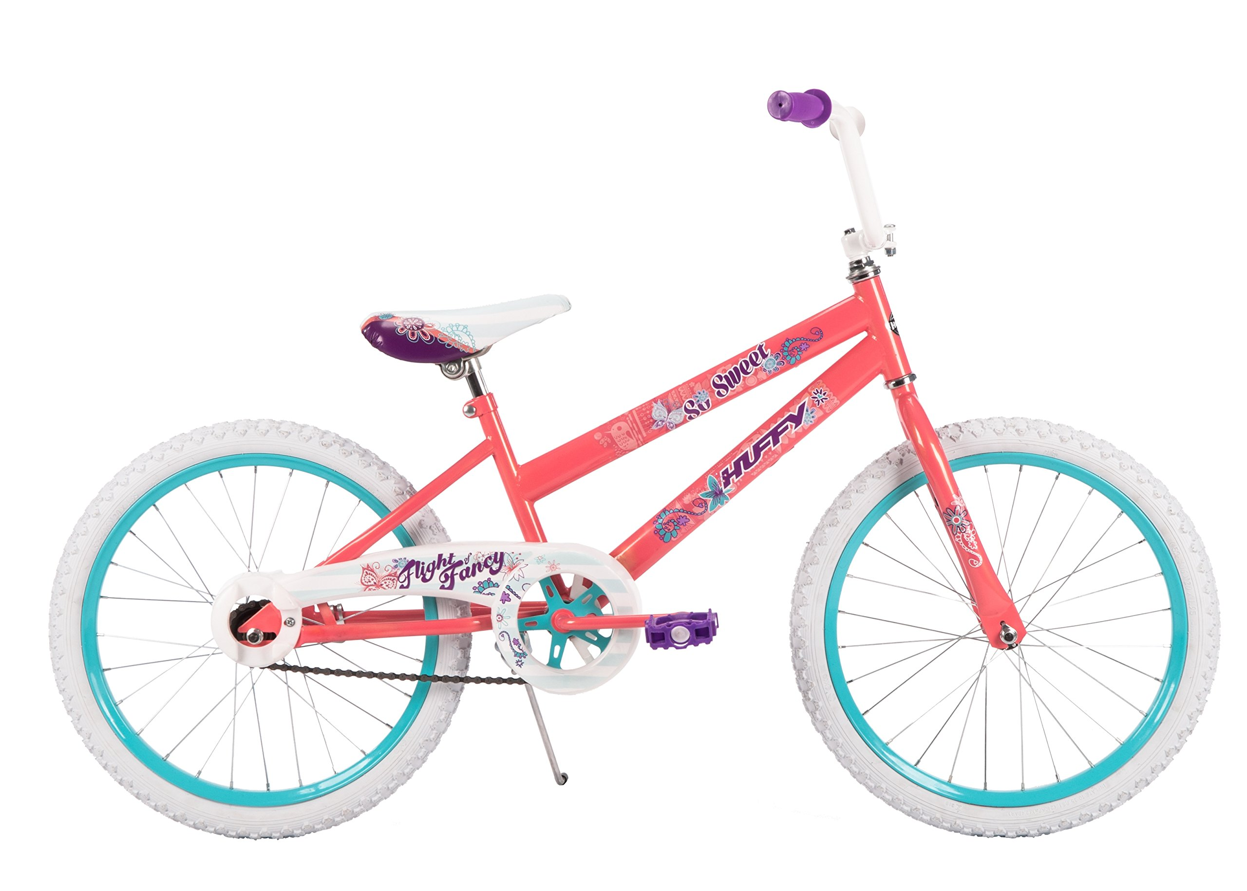 20'' Huffy So Sweet Girls' Bike, Ages 5-9, Height 44-56''