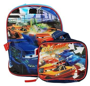 Disney Cars BackPack N Lunch Bag 2 Pcs Set