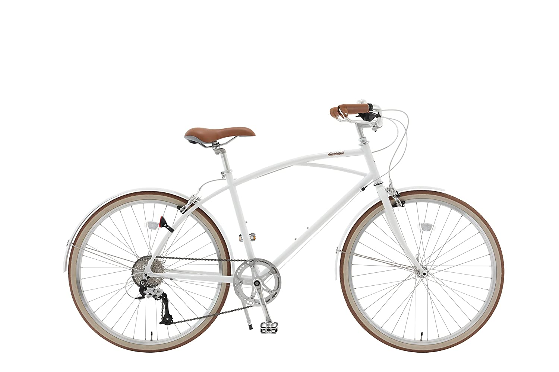 alohaloco(アロハロコ) オリジナル自転車(26インチ) KAILUA(カイルア) シマノ製8段変速ギヤ KAILUA B01MA5X7M4 Medium|ホワイト ホワイト Medium