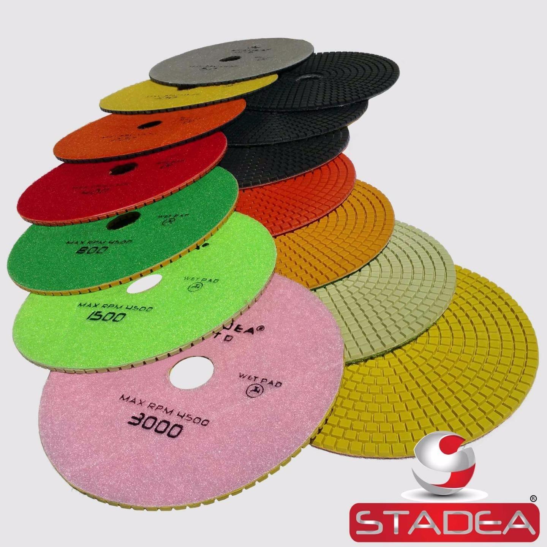 Stadea PPW154X Granite Polishing Pads 7 Diamond Pad 200 Grit For Granite Quartz Stones Polish Shop N Save Diamond Tools