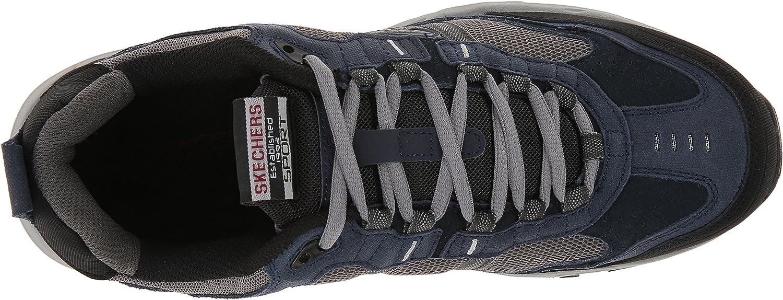 Skechers Men's Vigor 2.0 Trainers Navy Gray
