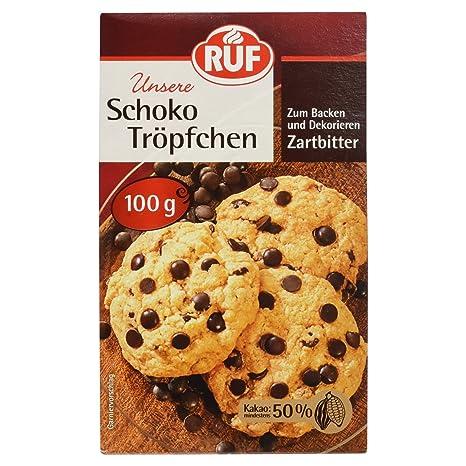 1kg Schokotropfen Zartbitter Chokolate Chips Für Cookies Muffins 1000g Feinschmecker Sonstige