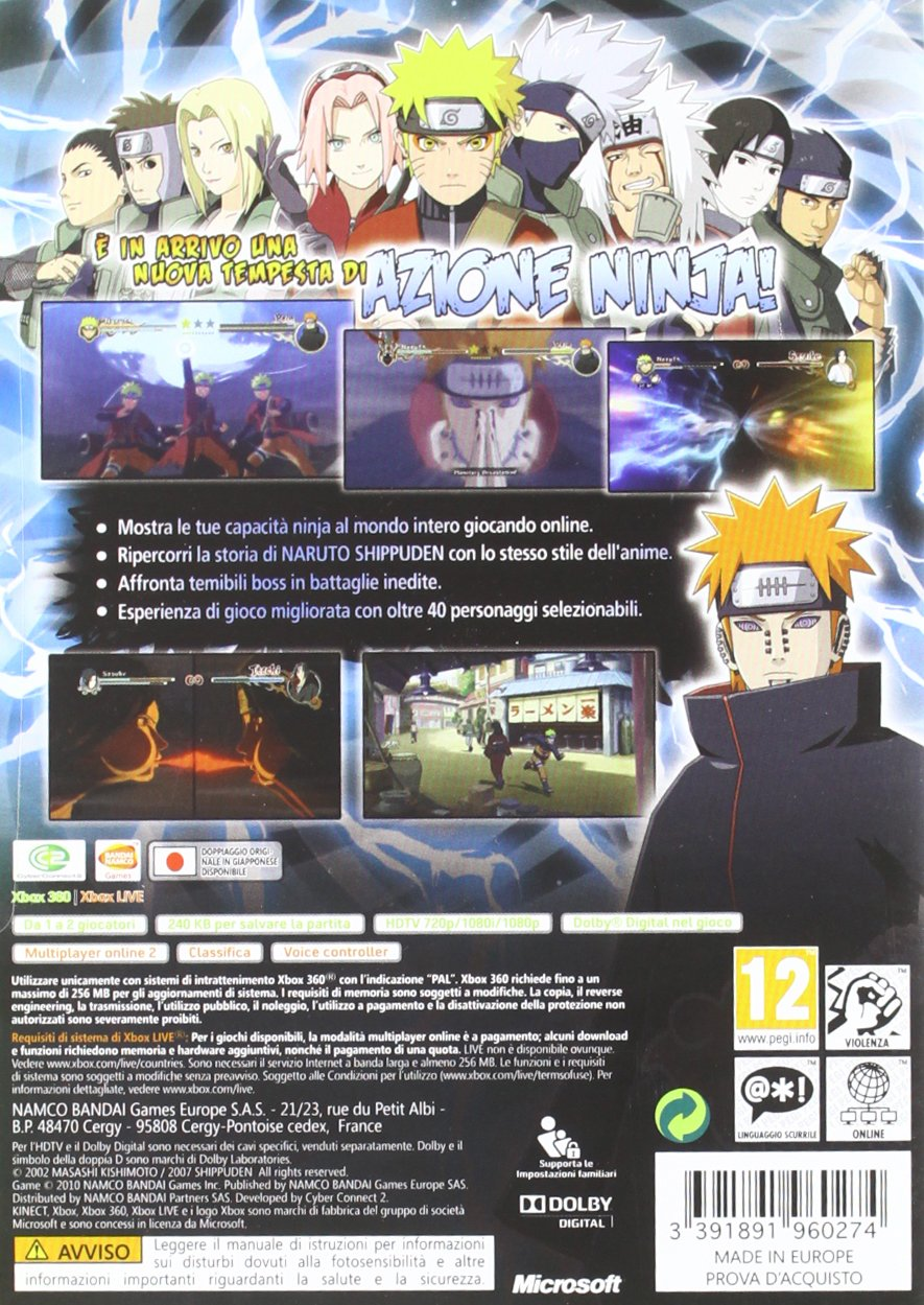 Naruto Shippuden: Ultimate Ninja Storm 2 - Classics Edition ...