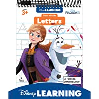 Disney Learning Frozen 2 Trace With Me Letters Tablet—Dry-Erase Tracing and Writing Practice With Upper- and Lowercase…