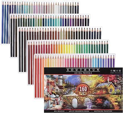 Smart Color Art 140 Colors Gel Pens Set Pen for Adult Coloring Books Drawing Pai
