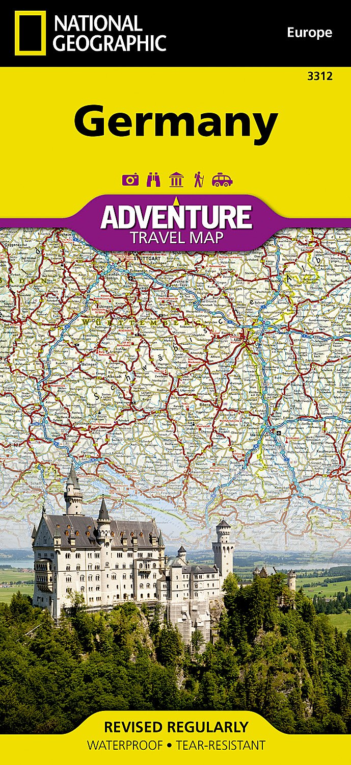 germany national geographic adventure map national geographic maps adventure 0749717033122 amazoncom books