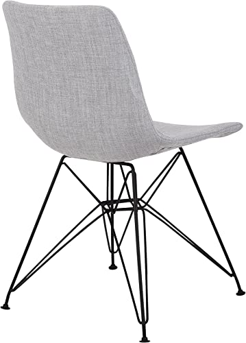 Armen Living Palmetto Dining Chair, Gray