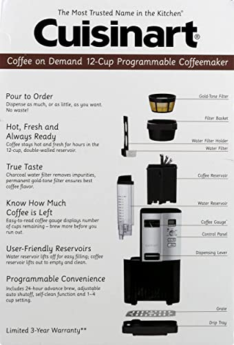 Cuisinart dcc 3000 review - delicious homebrew coffee on demand