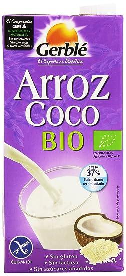 Gerblé - Arroz Coco Bio - Bebida De Arroz Con Coco Ecológica - 1 l -