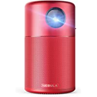Nebula Capsule Smart Mini Projector, by Anker, Portable 100 ANSI lm High-Contrast Pocket Cinema with Wi-Fi, DLP, 360…