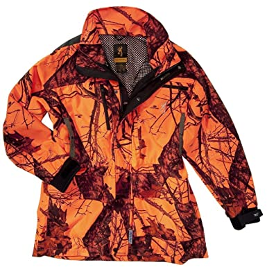 Browning-Chaqueta de caza Browning XPO X-Change Light, color naranja, tamaño XL: Amazon.es: Ropa y accesorios