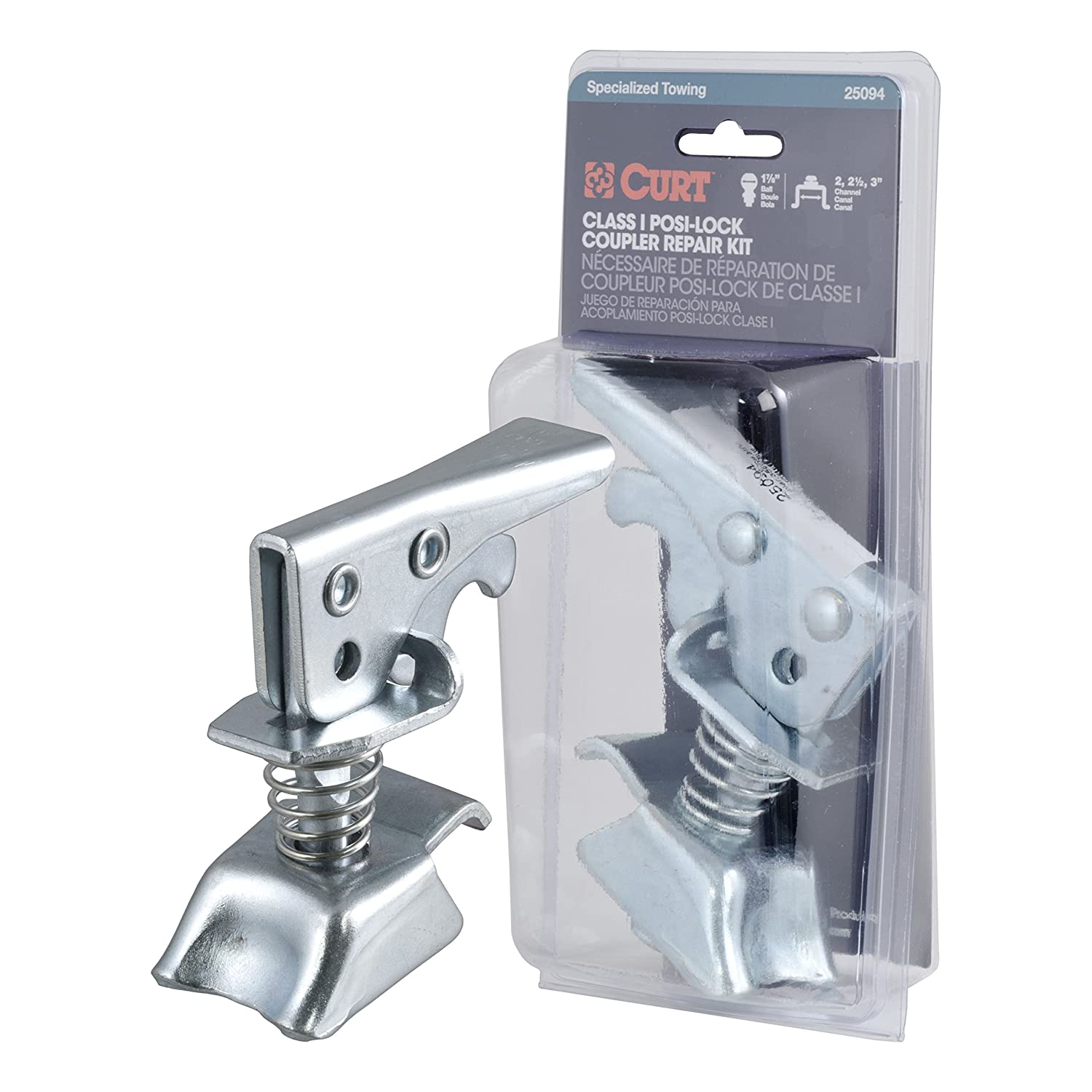 CURT 25094 Posi-Lock Coupler Replacement Latch Compatible with 1-7//8-Inch Trailer Hitch Ball