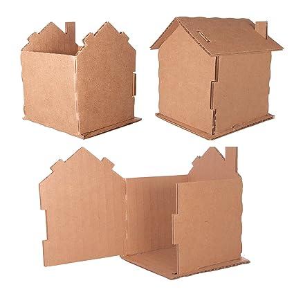 Amazon com: Cardboard House (5 Pack)