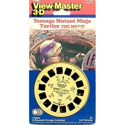 AFG Teenage Mutant Ninja Turtles The Movie Viewmaster Reel Set: Toys & Games