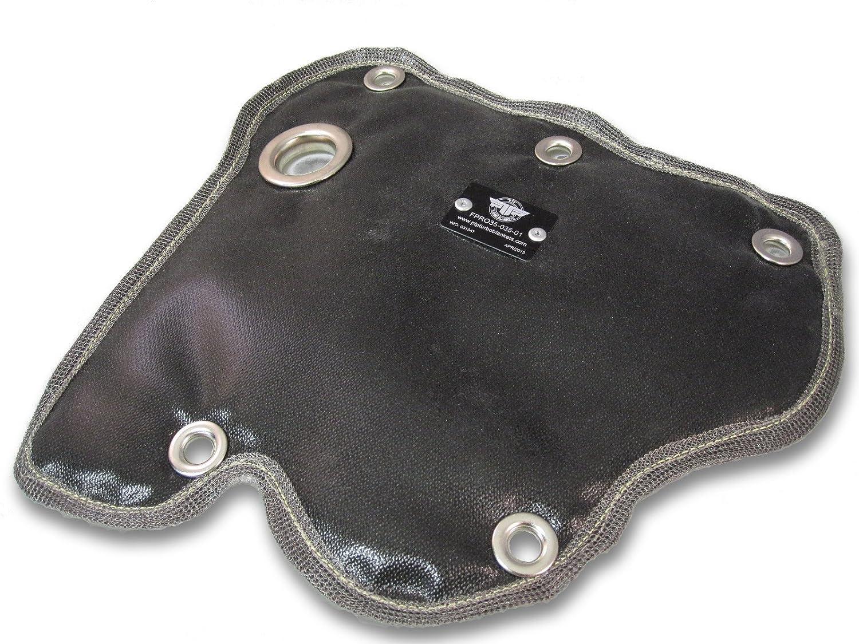 PTP Fiat 500 Turbo Black Abarth Turbo Blanket Heat Shield