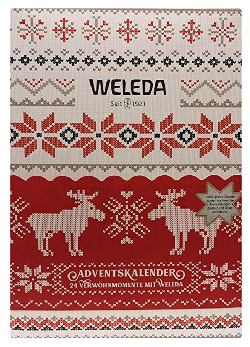 Calendario 1921.Weleda Advent Calendar 2018 Limited Beauty Nature