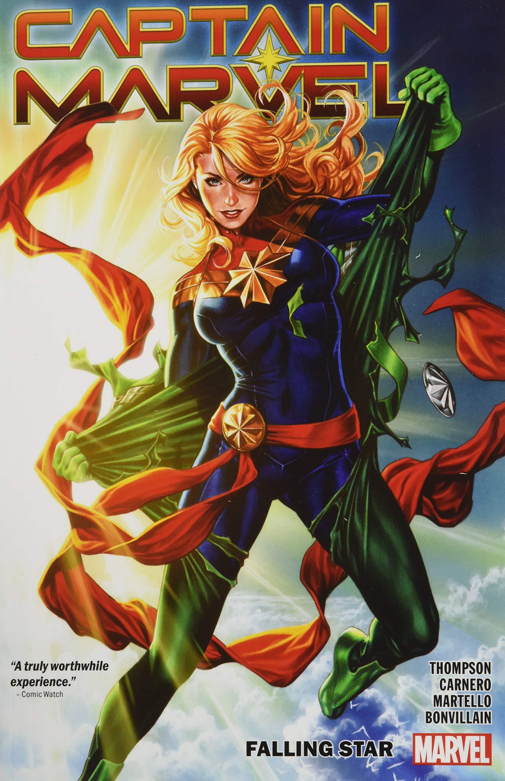 Amazon.com Captain Marvel Vol. 20 Falling Star 97813020916886 ...