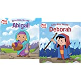 Deborah/Abigail Flip-Over Book (Little Bible Heroes™)