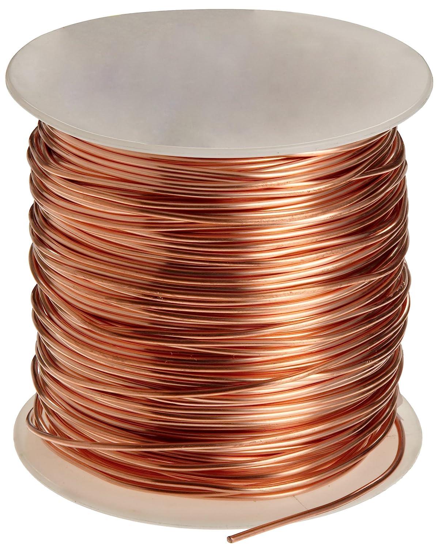 Amazon.com: Bare Copper Wire, Bright, 10 AWG, 0.1\